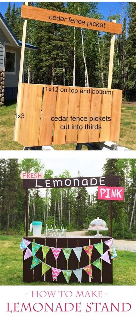 ana white build  fence picket lemonade stand
