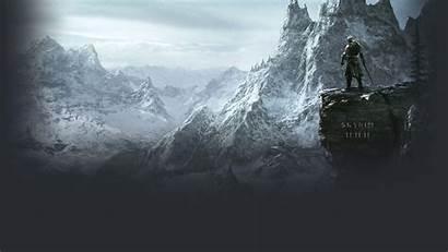 Skyrim Desktop Wallpapers Backgrounds Elder Background Scrolls