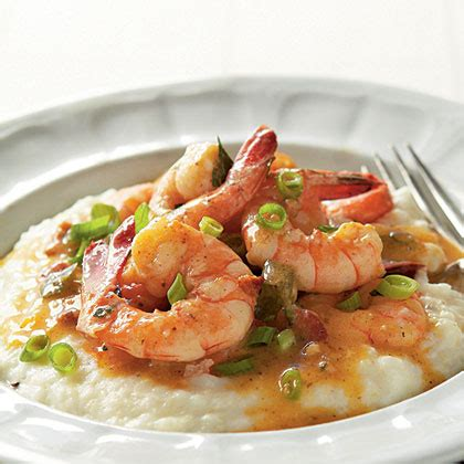 michelles lowcountry shrimp  grits recipe myrecipes