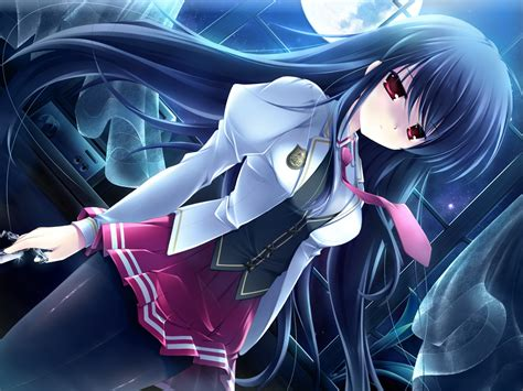 Anime School Wallpaper - anime anime school schoolgirls wallpapers