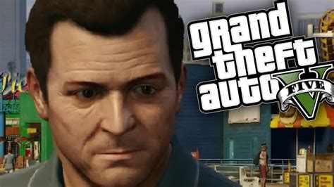 Gta 5 Michael Funny Moments Gameplay (an Average Day For