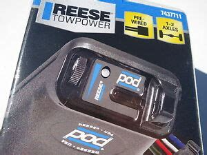 reese towpower 7437711 pod brake import it all new latest reese towpower pod electric trailer brake control 7437711