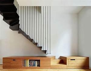 les 25 meilleures idees de la categorie escaliers peints With superior couleur pour une cage d escalier 3 noir blanc un style