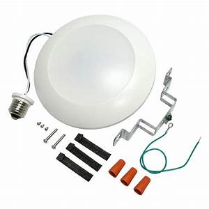 Sylvania led ld fl recessed can