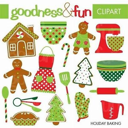 Baking Christmas Clipart Holiday Clip Cookie Cookies