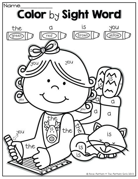 color words worksheets for kindergarten color best free