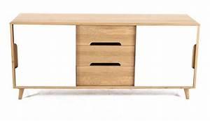 Meuble Bas 3 Portes : meuble bas 2 portes coulissantes et 3 tiroirs elfy ~ Teatrodelosmanantiales.com Idées de Décoration
