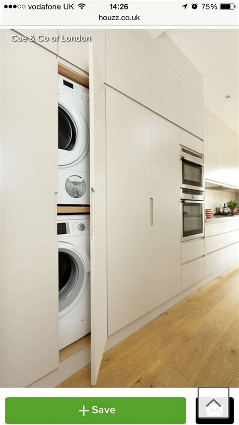 Tumble Dryer In Cupboard by Hide Away Washing Machine In Cupboard Rentadora In 2019