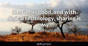 Sharing is good... Nice Technical Quotes