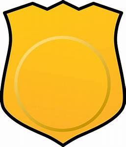 Police badge sheriff badge gallery for blank police ...