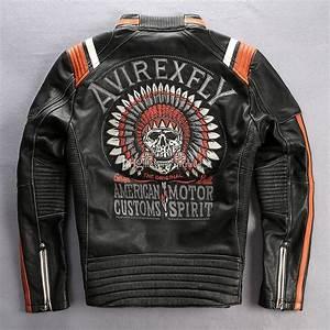 Acquista Costumi Americani Avirexfly Giubbotti Da Motocicletta Motocicletta Da Moto In Vera