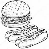Cheeseburger Coloring Cheese Printable Getcolorings Mejores sketch template