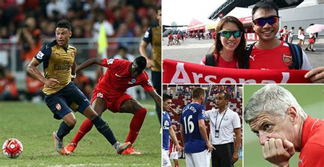 Arsenal vs Everton live: Follow the Barclays Asia Trophy ...