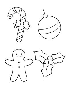 christmas ornament tree to color printable coloring pages mr printables