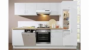 Küchenzeile Inkl Geräte : k chenzeile avant iii wei nussbaum rechts inkl e ger te ~ Indierocktalk.com Haus und Dekorationen