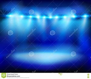 Floodlights vector illustration royalty free