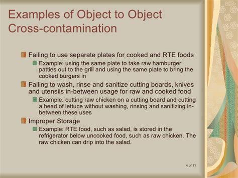 cross contamination is cross contamination