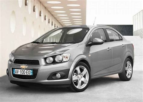 2018 Chevrolet Aveo Pictures Information And Specs