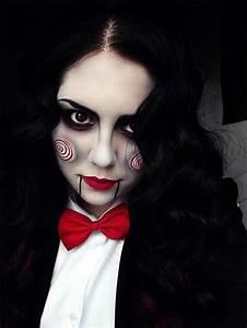 Halloween Make Up Puppe : halloween makeup trucco donna semplice o complesso ~ Frokenaadalensverden.com Haus und Dekorationen