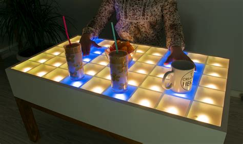 home design hacks diy led coffee table creativity