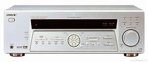 Sony Str-de475 - Manual - Audio Video Receiver