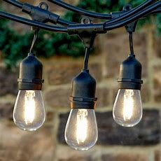 10 Adventages Of Commercial String Lights Outdoor
