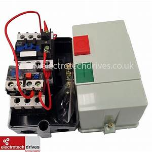 Dol Starter 240v Single Phase Pre Wired With 17 To 25 Amp
