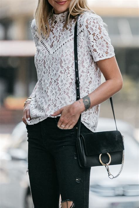 Nordstrom Anniversary Sale White Lace Top Fashion Jackson