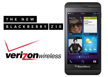 verizon blackberry  pre orders start today release
