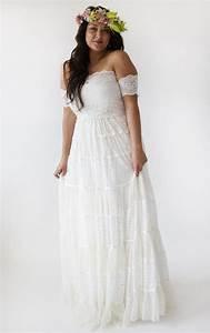 plus size hippie wedding dresses pluslookeu collection With plus size hippie wedding dresses
