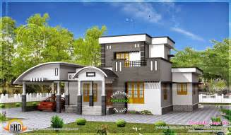 splendid modern houses by kerala house inspirations with - Home Floor Designs