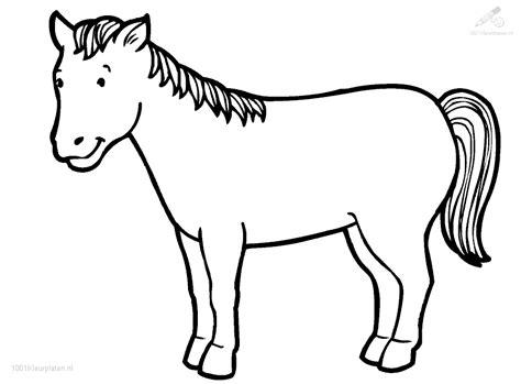 768 x 1024 png pixel. Kleurplaat Paard