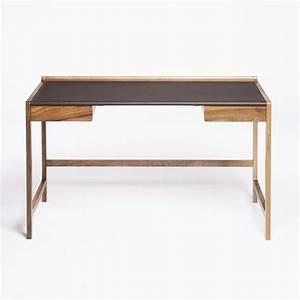 Bureau Contemporain Design : bureau design en bois bureau kay stemmer pour scp ~ Teatrodelosmanantiales.com Idées de Décoration