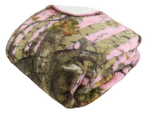 Regal Comfort Sherpa Luxury Throw Blanket, The Woods Camo, Pink New Best Blanket Forts Taylor Swift Red Target Big Thick Baby Blankets Puppy Dog Aran Wool Us Navy Surplus Tied Knot Security Peanuts
