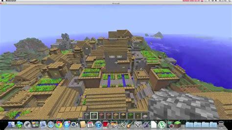 minecraft biggest village  youtube