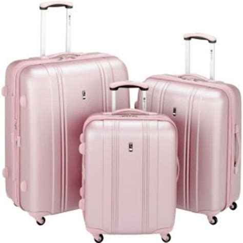 light pink suitcase lifting hearts almost wordless wednesday pink luggage