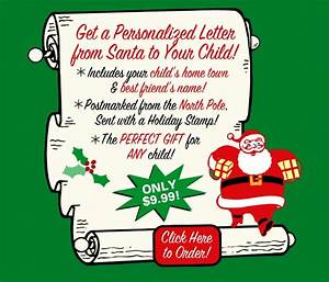 send a personalized letter from santa to your child the With send your child a letter from santa