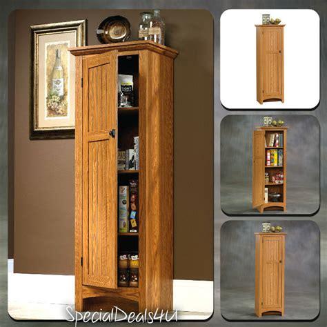 Kitchen Storage Cabinet Pantry Organizer Tall Cupboard