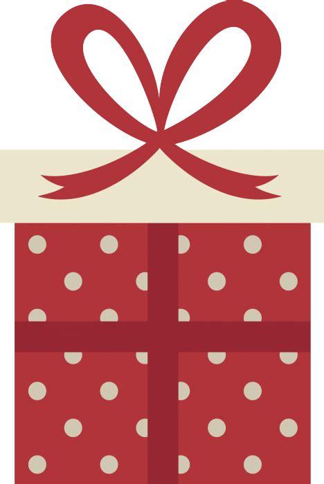 stickers natalizio  pacco dono  pois livingdeco