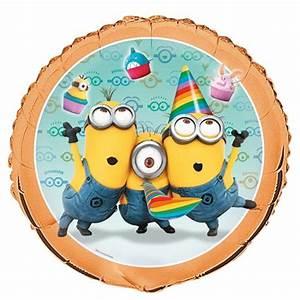 Feuerwehrmann Sam Geburtstagsdeko : minion party folien luftballon mit helium lu luftballon minion party ma 44167 ~ Whattoseeinmadrid.com Haus und Dekorationen