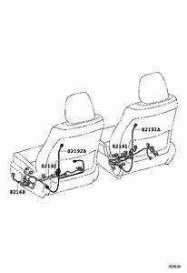 Toyota Avalon Wire  Floor  Seat  Package  Engine