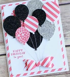 Geburtstagskarte Basteln Einfach : 1001 ideen wie sie geburtstagskarten selber gestalten ~ Orissabook.com Haus und Dekorationen