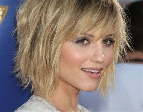 short medium layered hairstyles fine hair