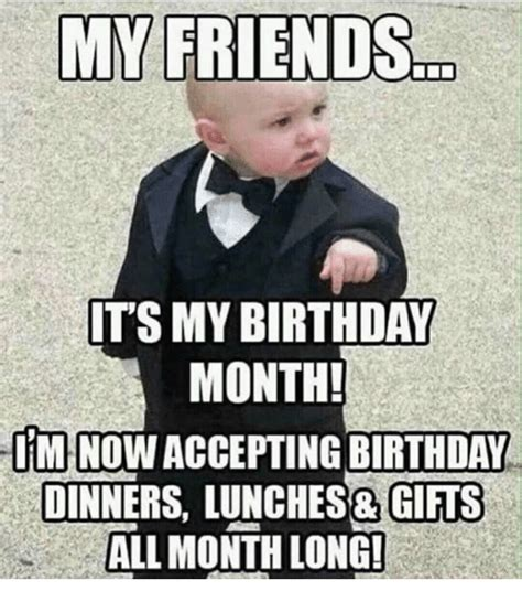 My Birthday Meme - 25 best memes about its my birthday month its my birthday month memes