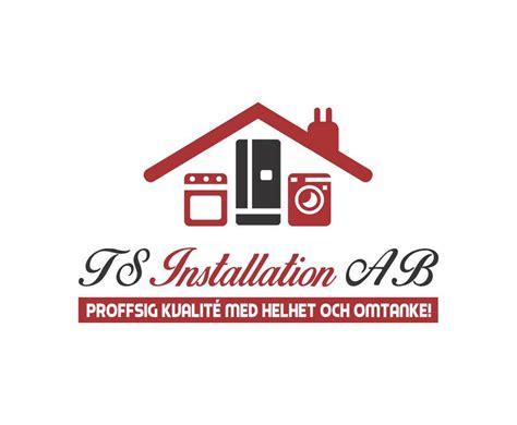 logo design  company installing kitchen appliances