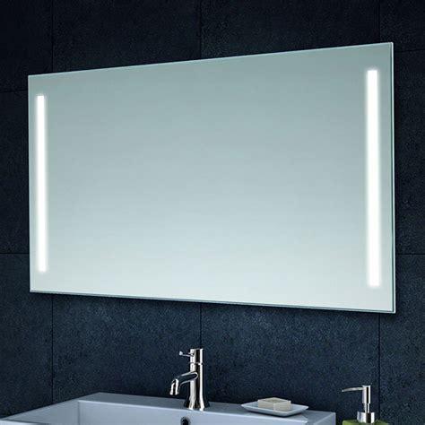 badezimmerspiegel mit led badezimmerspiegel wandspiegel mit led beleuchtung 100x60 cm spiegel badspiegel ebay