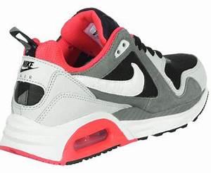 Nike Air Max Trax GS shoes grey white neon