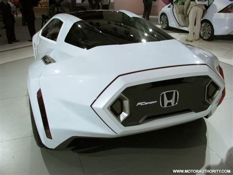 Honda Fc Sport Design Study Foresees Future Hydrogen