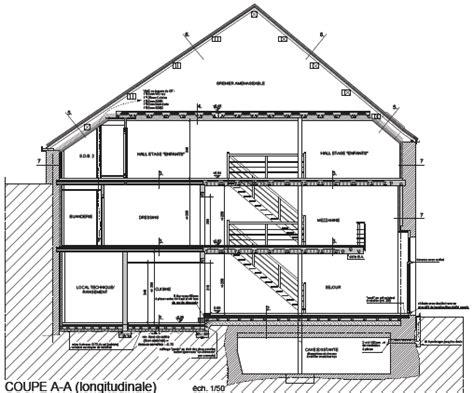facade bois cuisine un logement dans une grange en architecture bois