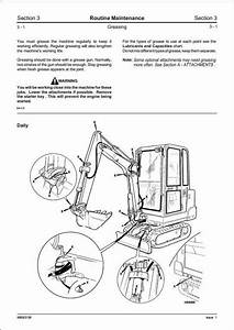 Jcb 801 4 801 5 801 6 Mini Excavator Service Repair Manual